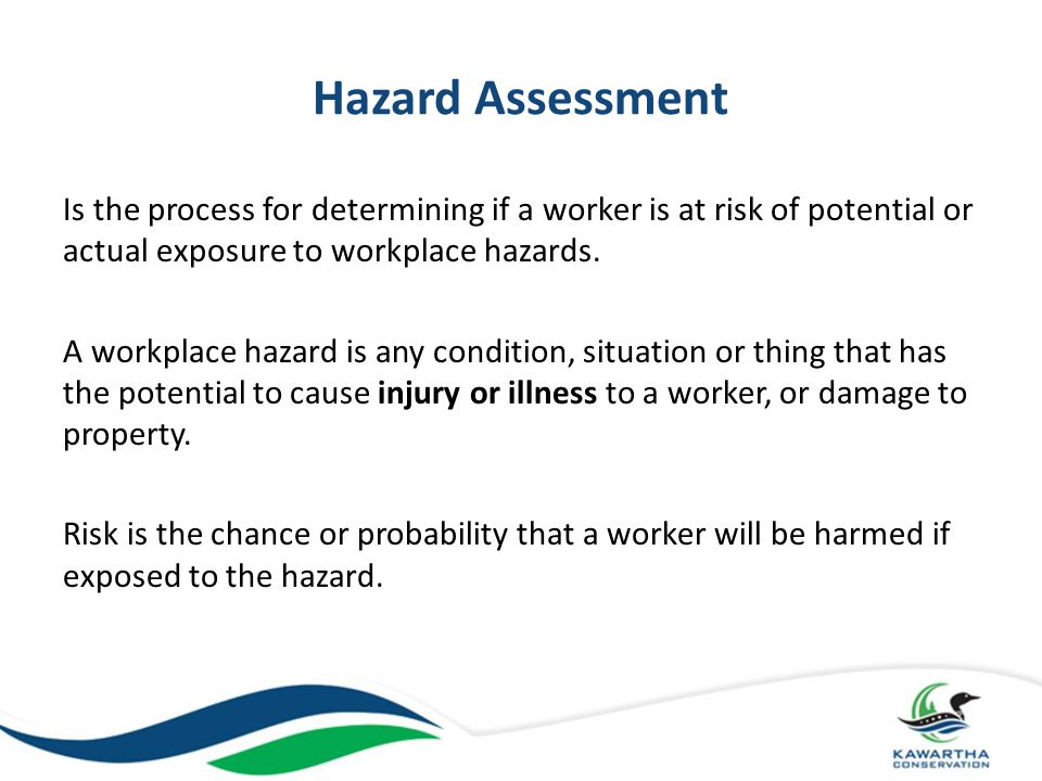 Step 5: Injured or Ill Worker and Emergency Plans Emergency Plans are procedures for dealing with such sudden unexpected situations as fires, explosions, violent occurrences or natural hazards The objective of the plan is to minimize fatalities, injuries and damage Emergency plans should include evacuation plans, emergency contact information, and first aid information