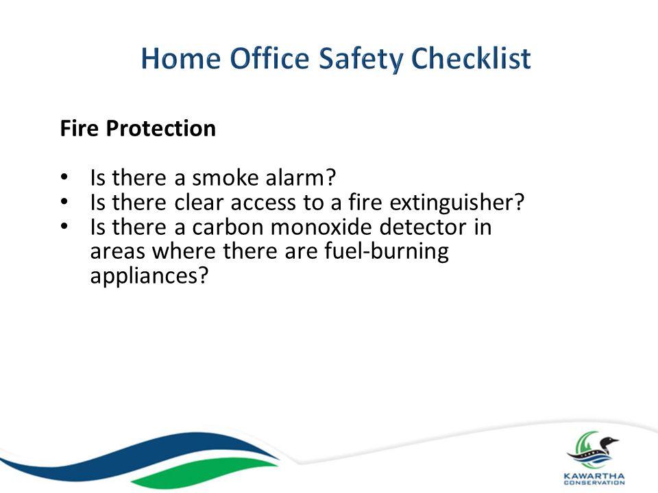 Emergency Procedures Has an evacuation plan been established.
