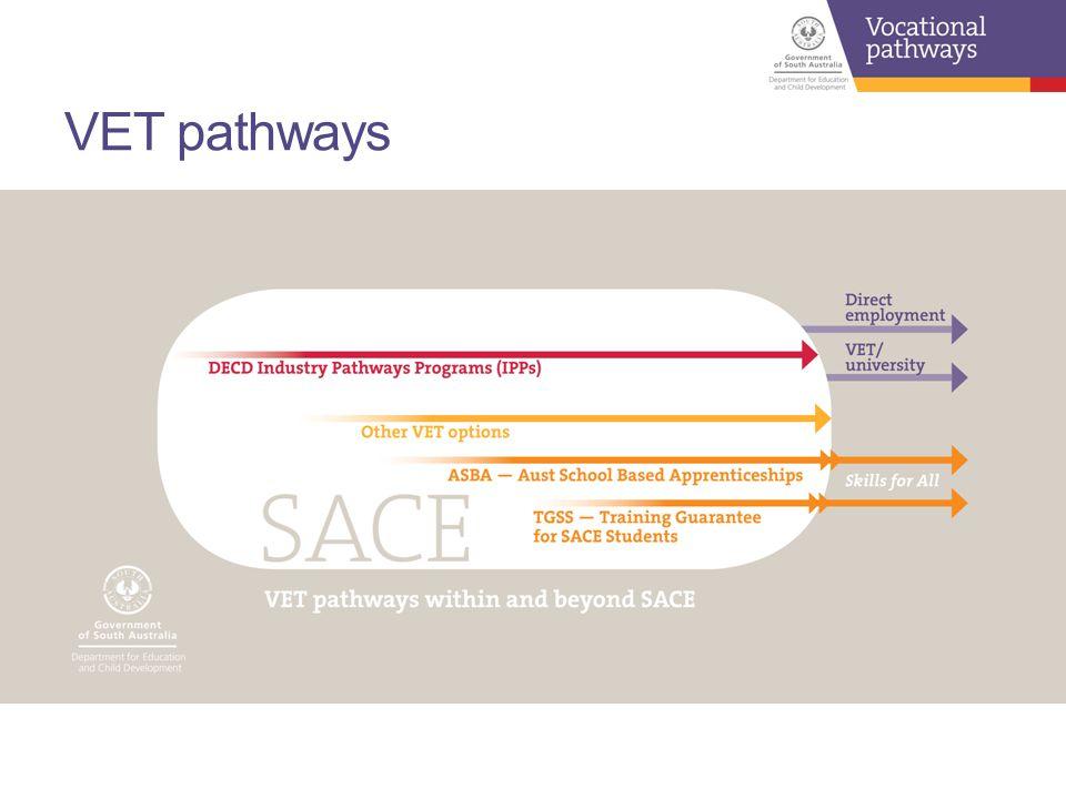 VET pathways
