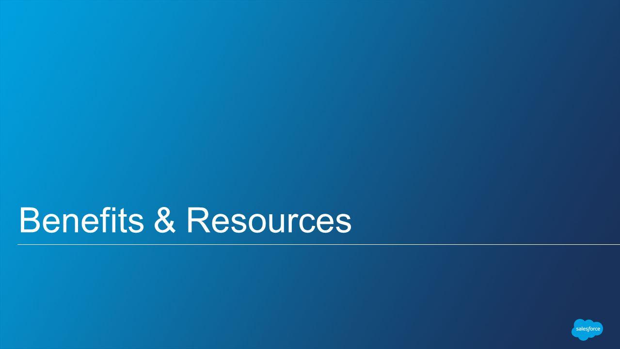 Benefits & Resources
