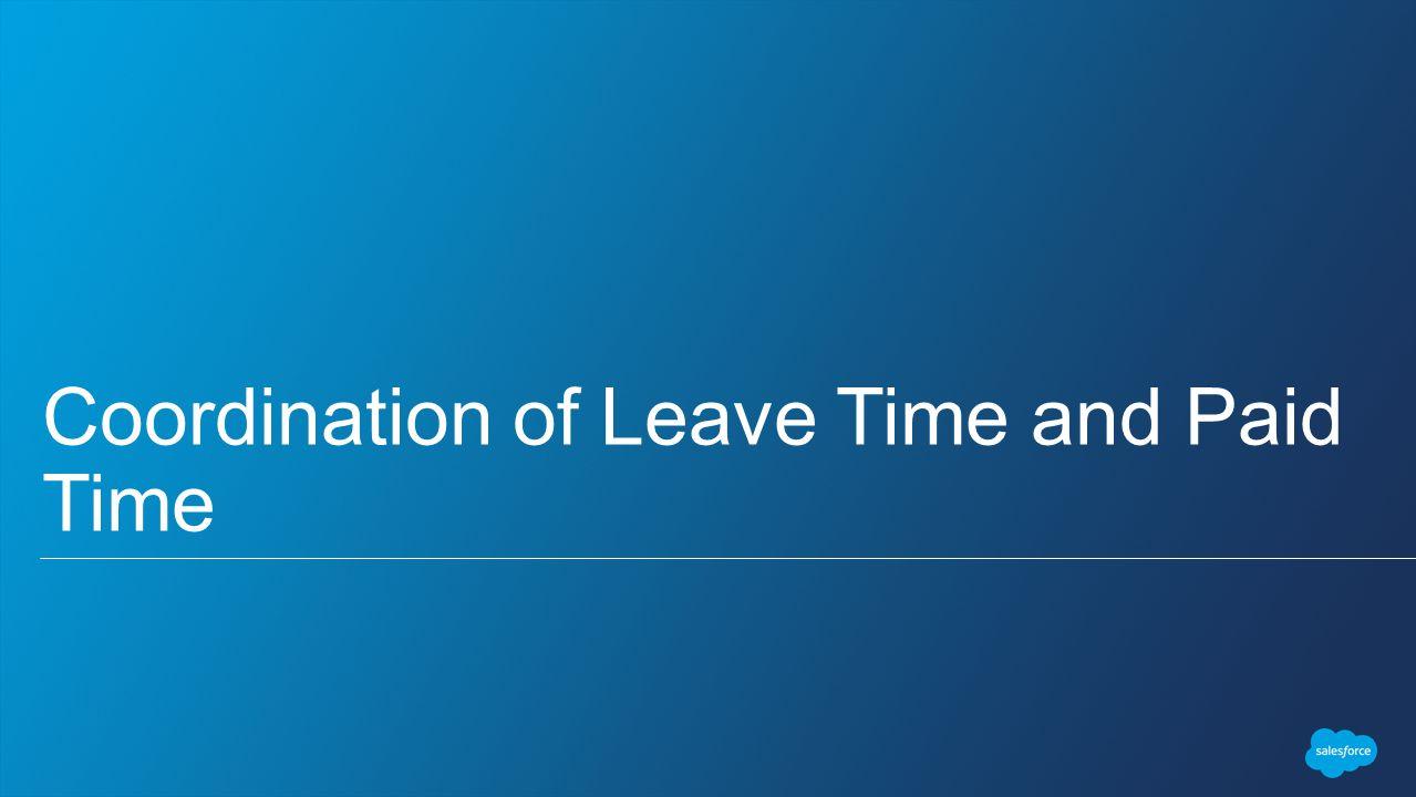 Applying For Leave