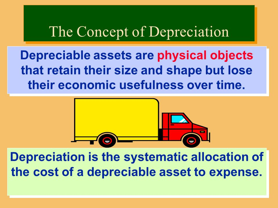 Depreciation is the systematic allocation of the cost of a depreciable asset to expense.