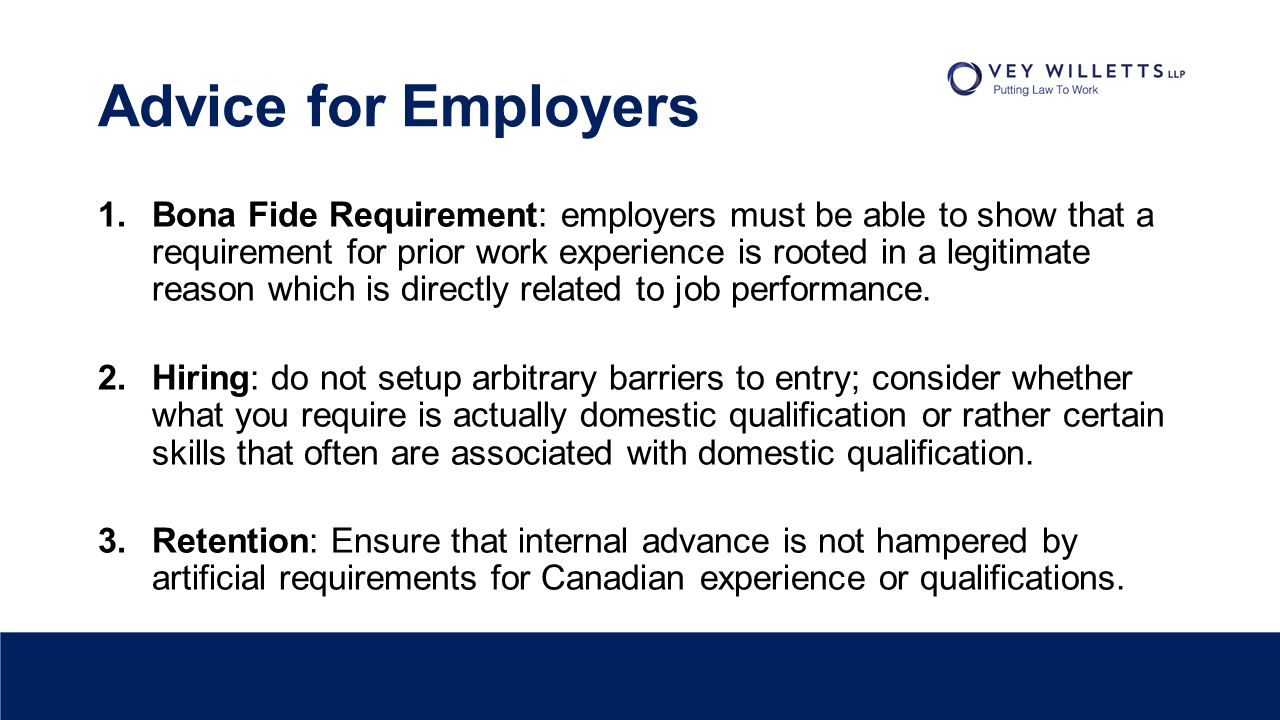 Overqualification While I agree that over-qualification can provide a discriminatory pretext, if a person is in fact over-qualified for a job, that fact can create genuine, non-discriminatory reasons for not offering employment… Reiss v.