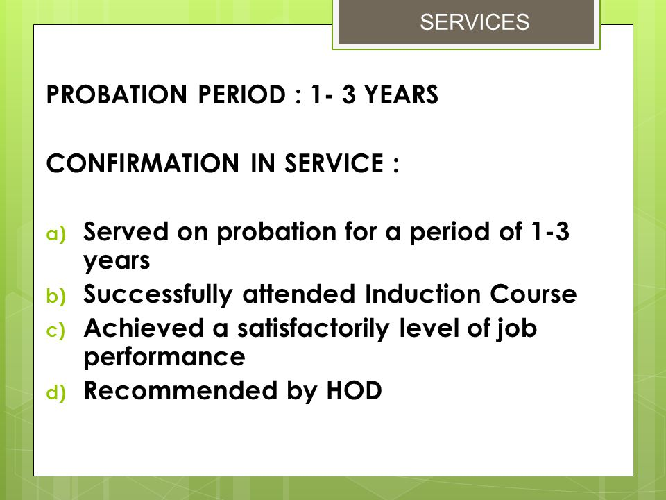 Provision of Annual Leave: 1) Base on entitlement 2) Recommendation from Superior 3) Approval from Head of Department 4) Balance of unutilized Annual Leave can be carried forward or compensated 5)Reasons that can change the Annual Leave entitlement are; -recorded 10 years of service -promotion -renewal of contract Annual Leave EMPLOYEE BENEFITS & HR RELATION UNIT