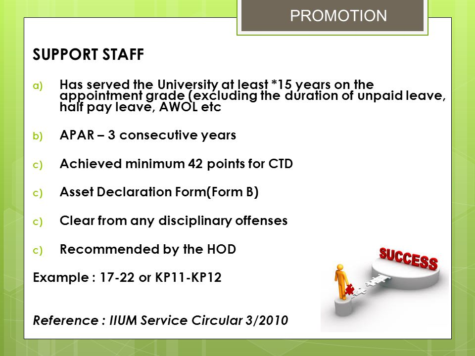 - Maximum of 180 days - To apply only if there is no more annual leave - Based on length of service in the IIUM - Due to sickness of immediate relatives EMPLOYEE BENEFITS & HR RELATION UNIT