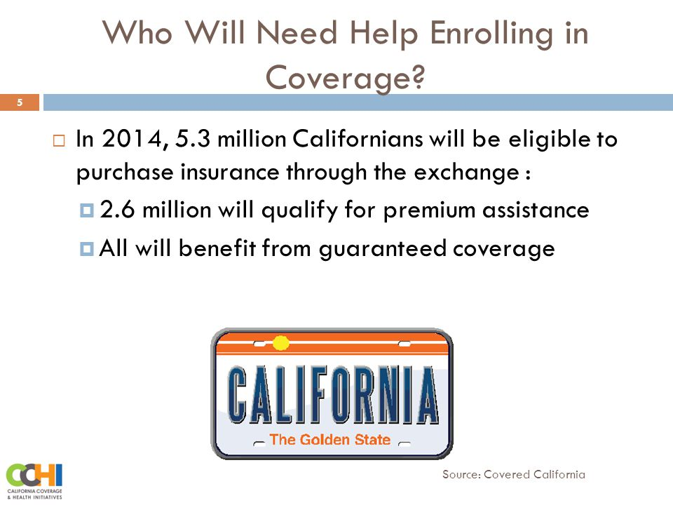 Who Will Need Help Enrolling in Coverage.
