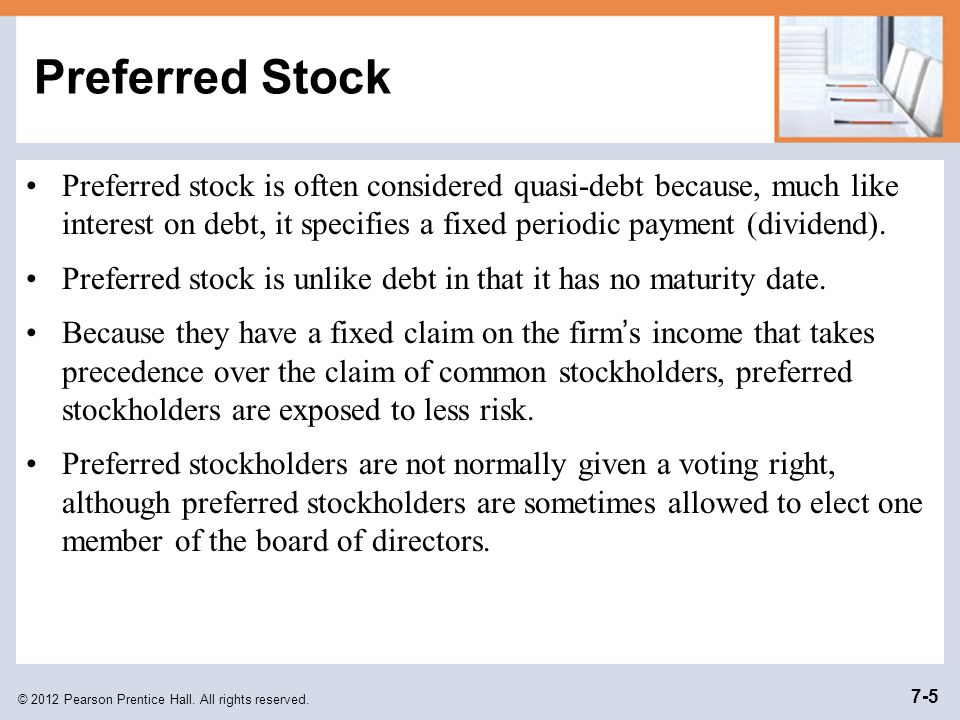 © 2012 Pearson Prentice Hall. All rights reserved. 7-26 Free Cash Flow Example