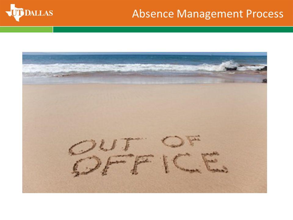 Absence Management Process