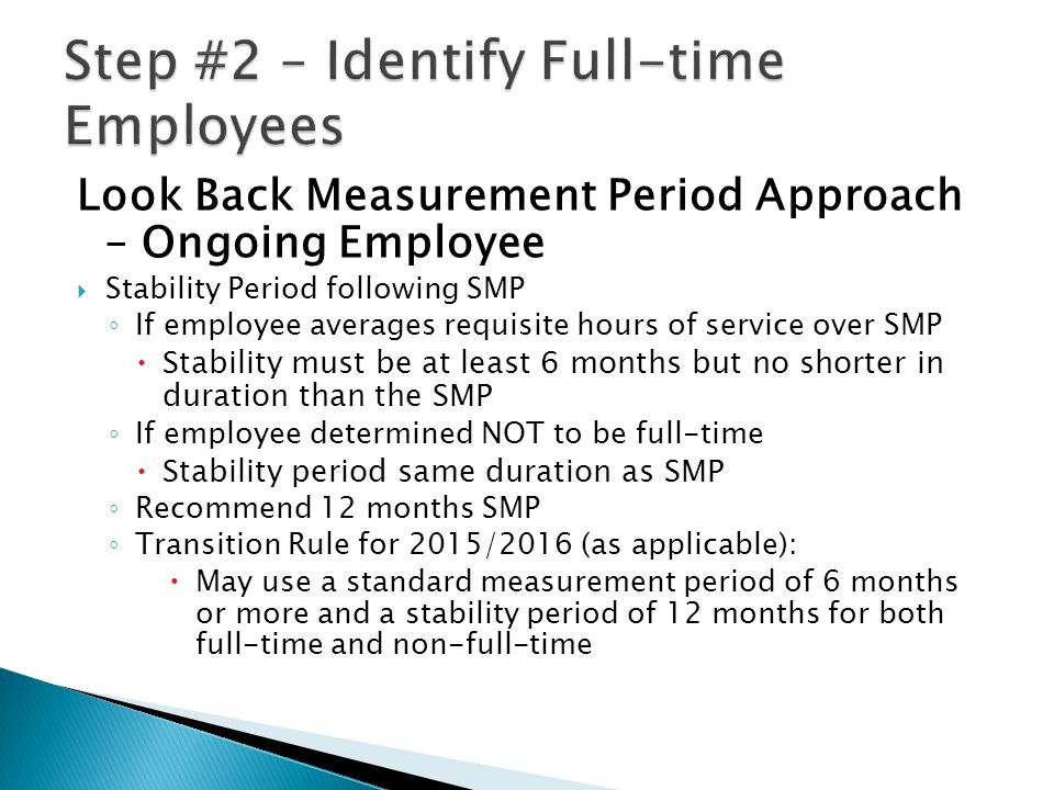 Breaks in Service  Generally, If an employee has a period with no hours of service (other than a special unpaid leave) that is at least 13 full weeks (week = 7 consecutive calendar days), he has a break in service.