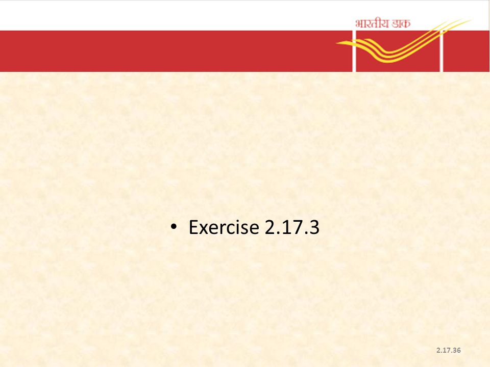 Exercise 2.17.3 2.17.36