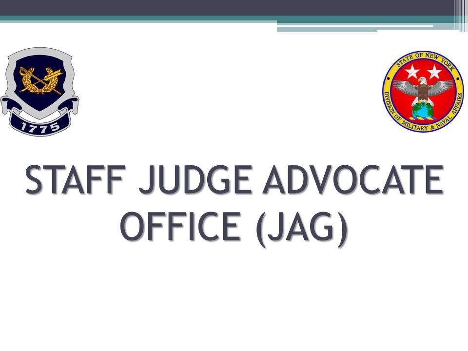 STAFF JUDGE ADVOCATE OFFICE (JAG)