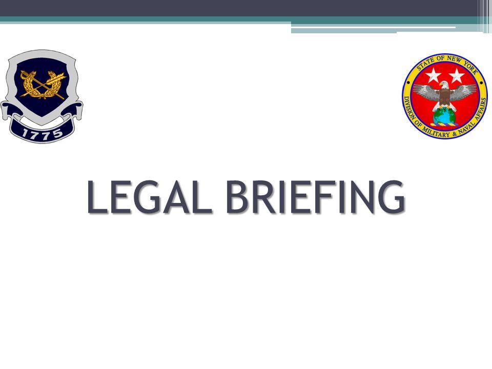LEGAL BRIEFING