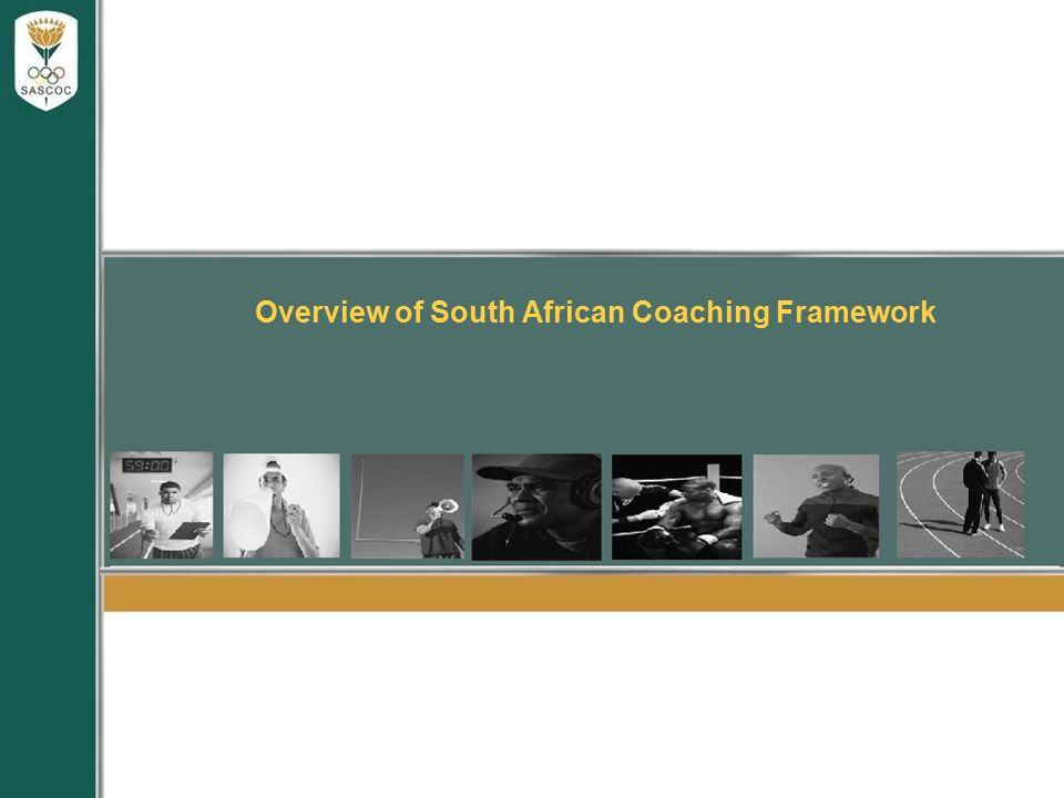 Overview of South African Coaching Framework