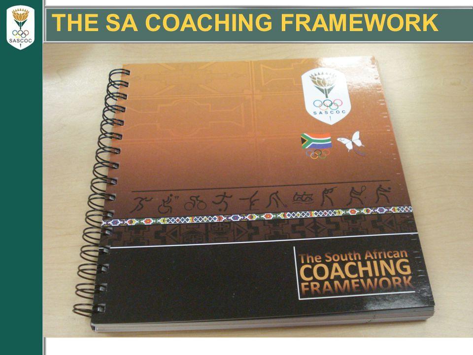THE SA COACHING FRAMEWORK