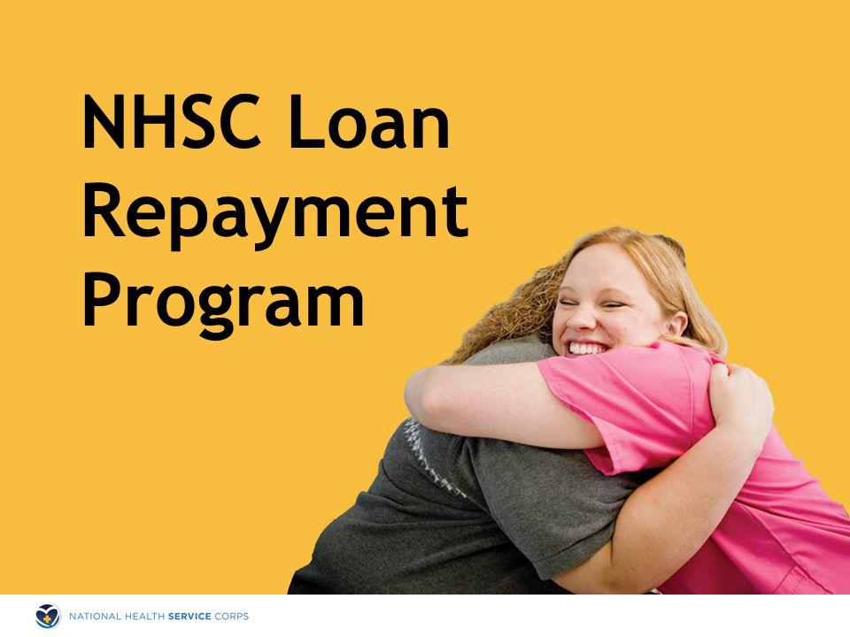 NHSC Loan Repayment Program
