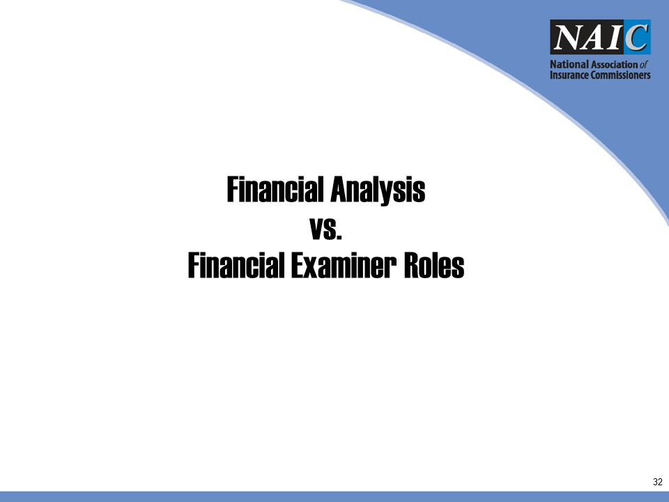 Financial Analysis vs. Financial Examiner Roles 32