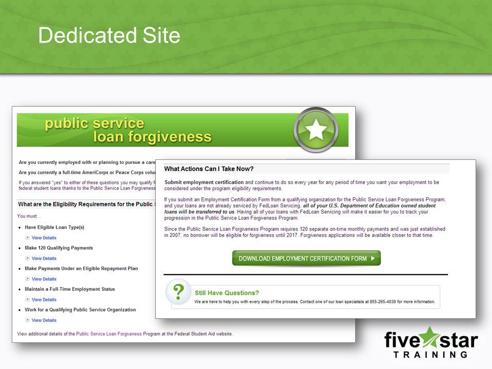 Dedicated Site
