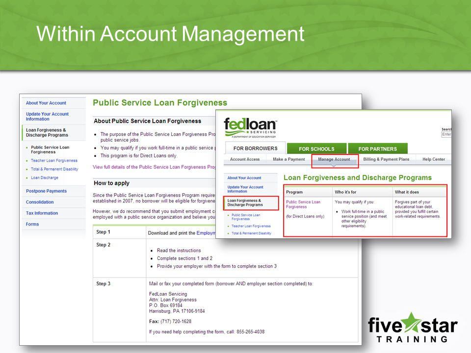 Within Account Management