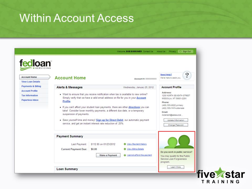 Within Account Access
