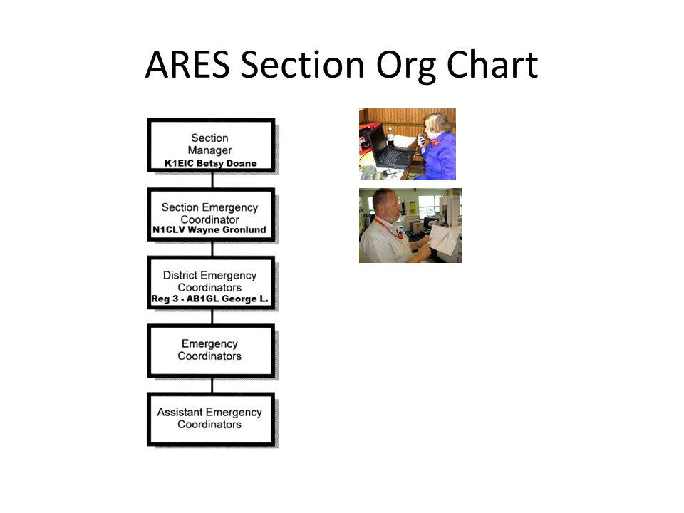 ARES Section Org Chart