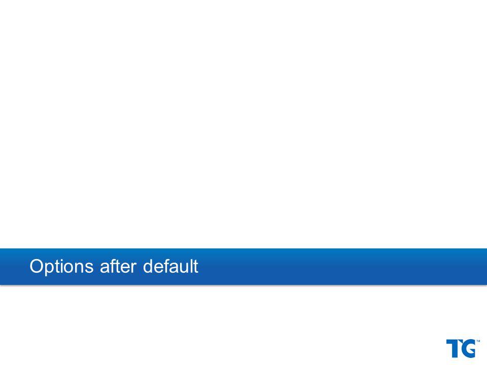 Options after default