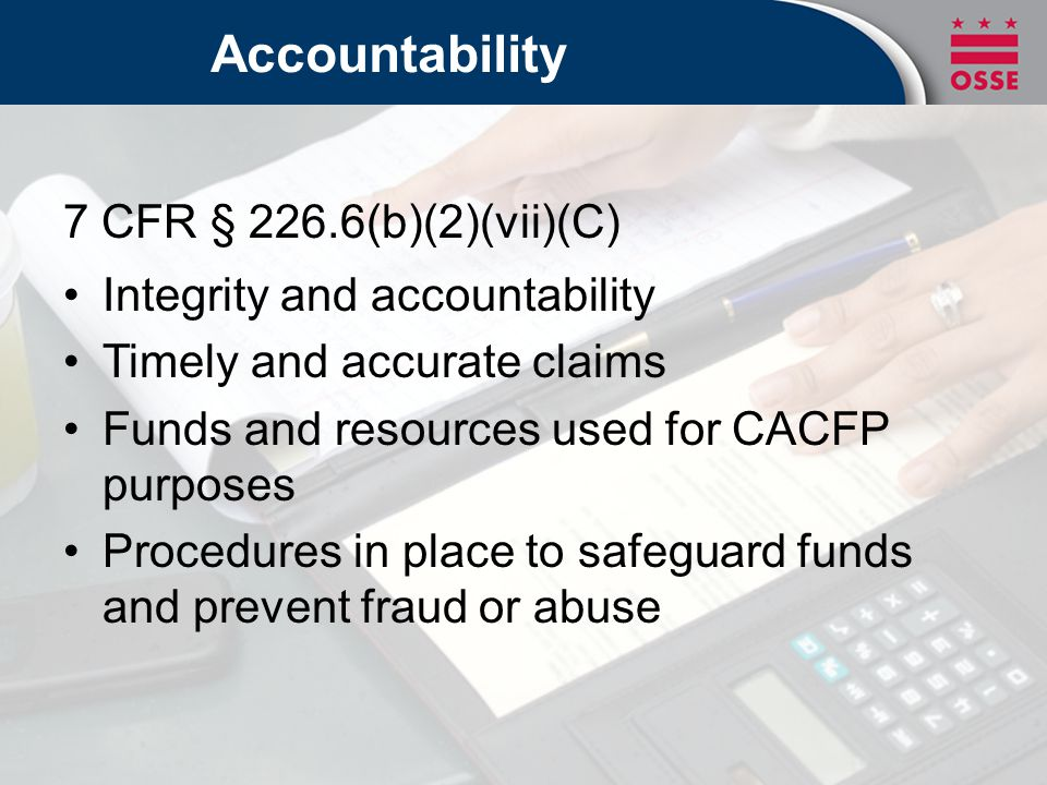 How are you using your CACFP reimbursements?