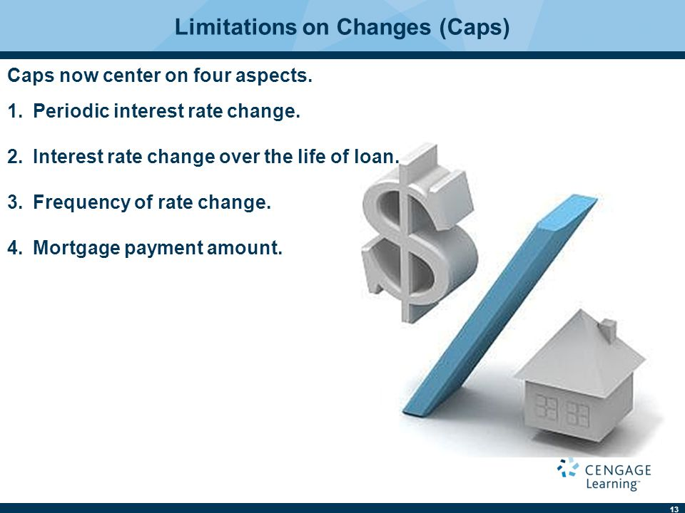 14 The cap may apply to the amount the borrower pays during the year, but may not limit the amount owed.