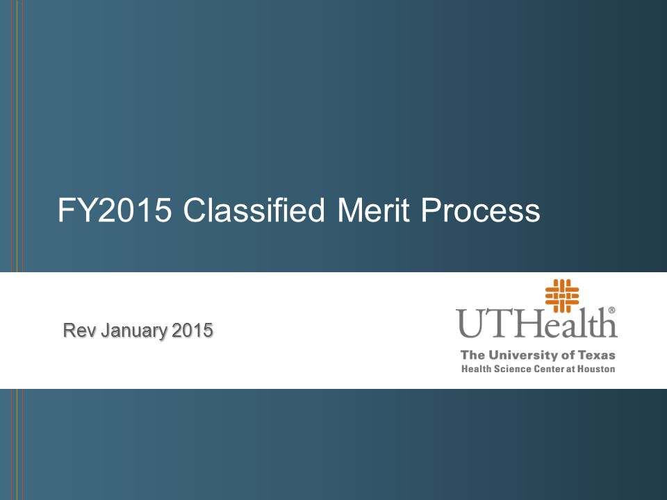 FY2015 Classified Merit Process Rev January 2015