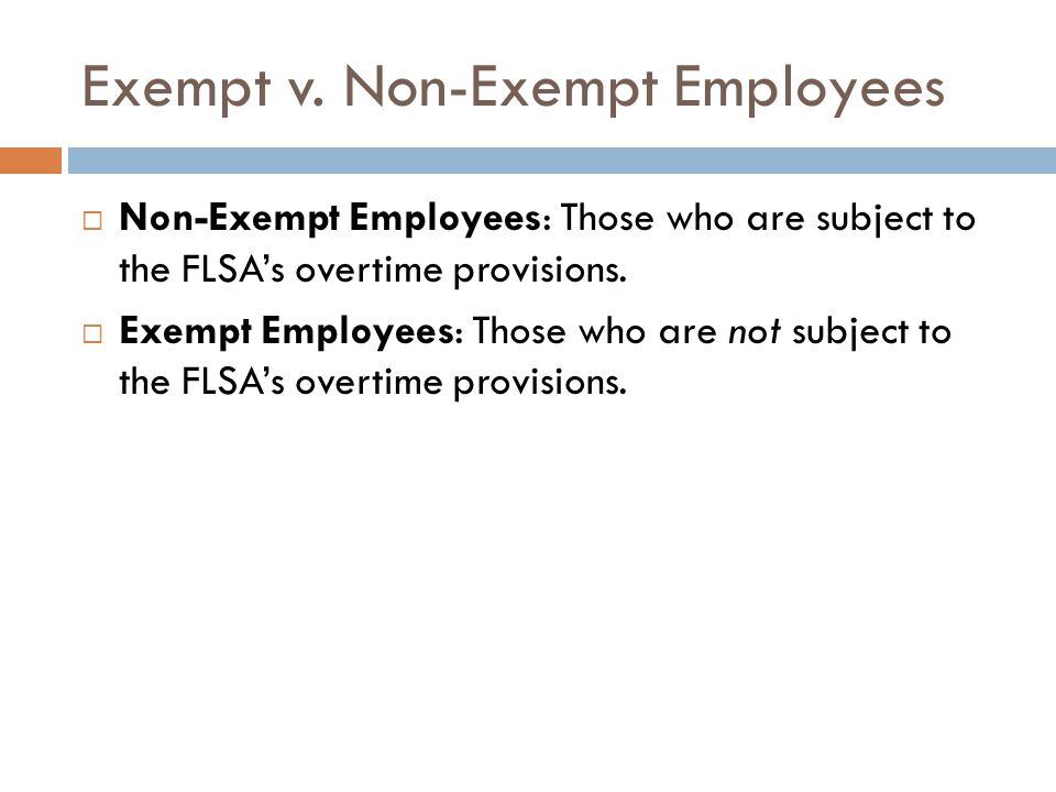Exempt v.