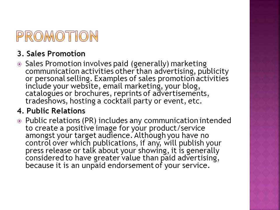  Describe internal and external factors that can affect promotional plans.
