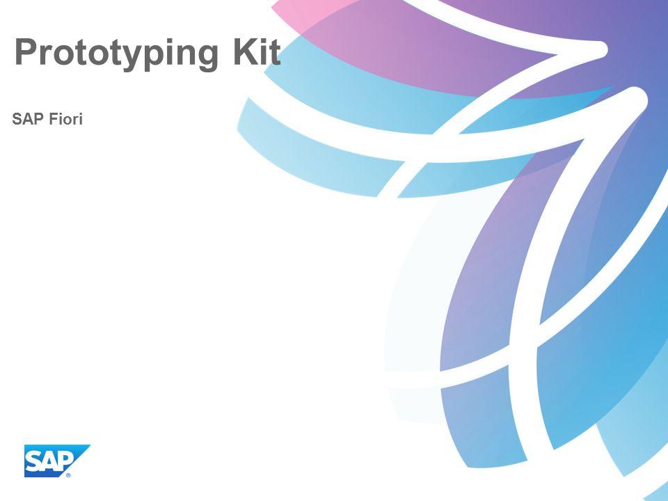 Prototyping Kit SAP Fiori