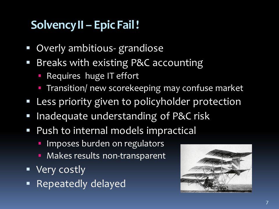 7 Solvency II – Epic Fail .