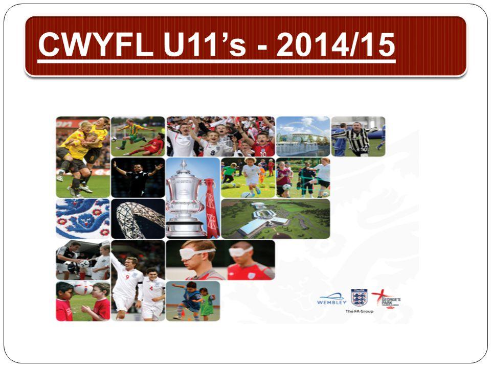 CWYFL U11's - 2014/15