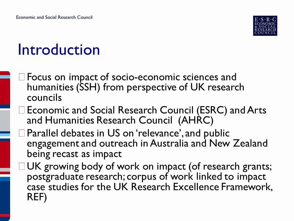 What is ESRC.