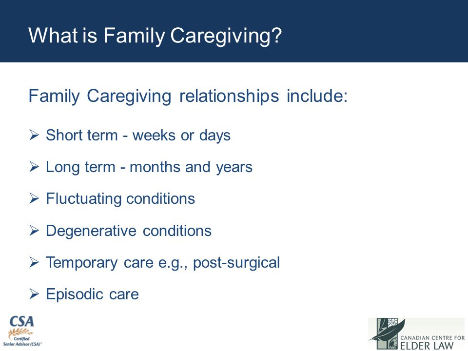 How Do These Caregivers Fare Under Existing Laws.