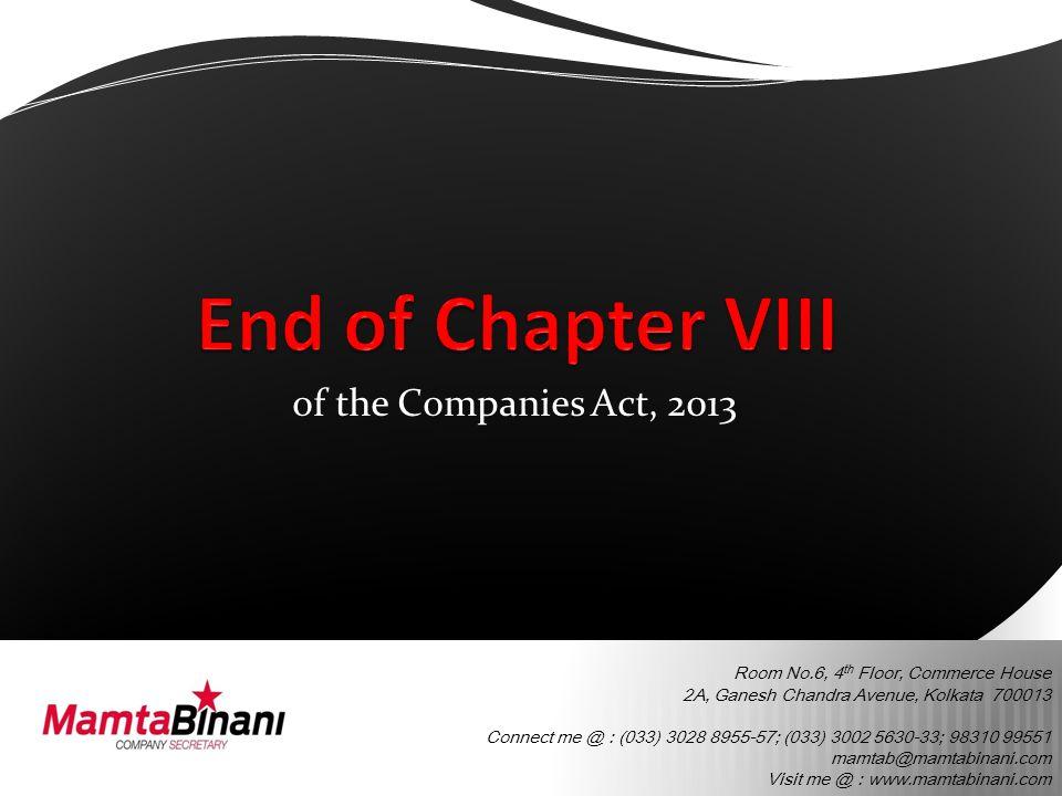 Room No.6, 4 th Floor, Commerce House 2A, Ganesh Chandra Avenue, Kolkata 700013 Connect me @ : (033) 3028 8955-57; (033) 3002 5630-33; 98310 99551 mamtab@mamtabinani.com Visit me @ : www.mamtabinani.com of the Companies Act, 2013