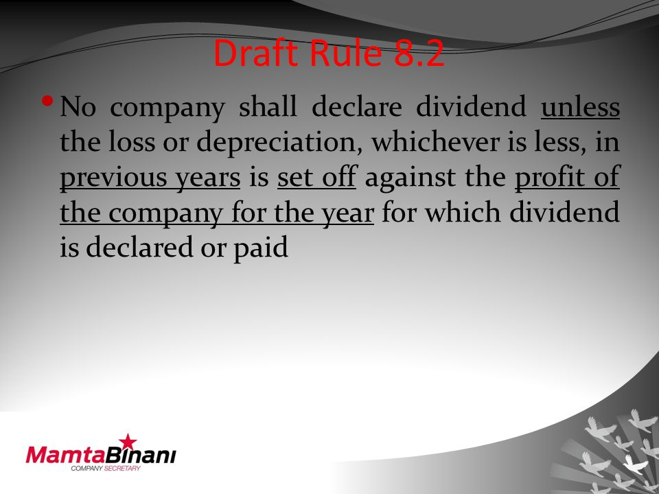 Section 124(3) If default is made in transferring full/ part money to unpaid dividend account (as required in section 124(1)) Then on such amount which has not been transferred The company to pay interest @12% p.a.