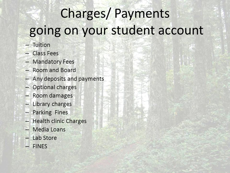 Tuition Mandatory Fees CAB renovation Fee ($5.75 per credit) Clean Energy Fee ($1.00 per credit) Health Services ($83.00 per quarter) (not Health Insurance) Transit Fee ($2.50 per credit) Late Night Shuttle Fee $5.00 per quarter) http://www.evergreen.edu/business/studentfinancialservices/fees.htm