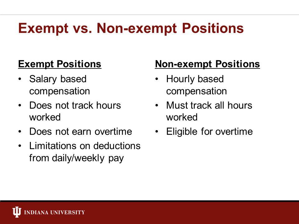 REQUIREMENTS FOR NON-EXEMPT Fair Labor Standards Act (FLSA) Legal Compliance