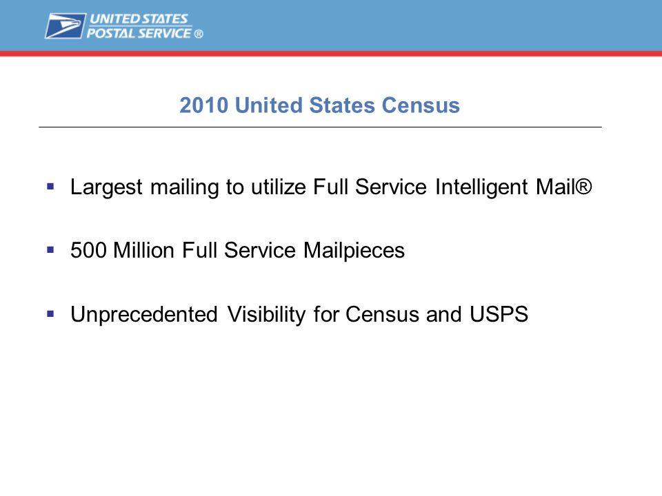 Census 2010 – Container Visibility