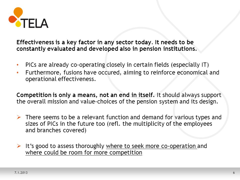 Effectiveness is a key factor in any sector today.