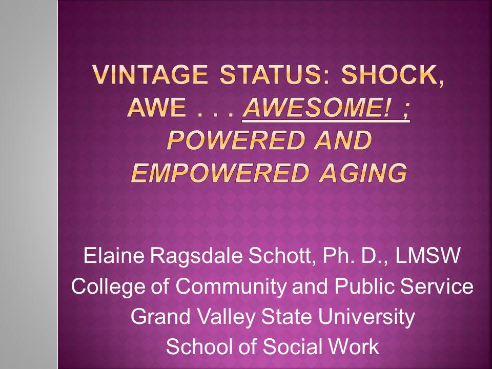 Elaine Ragsdale Schott, Ph.