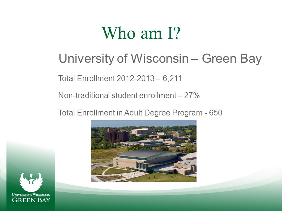 Who are Non-traditional Students.