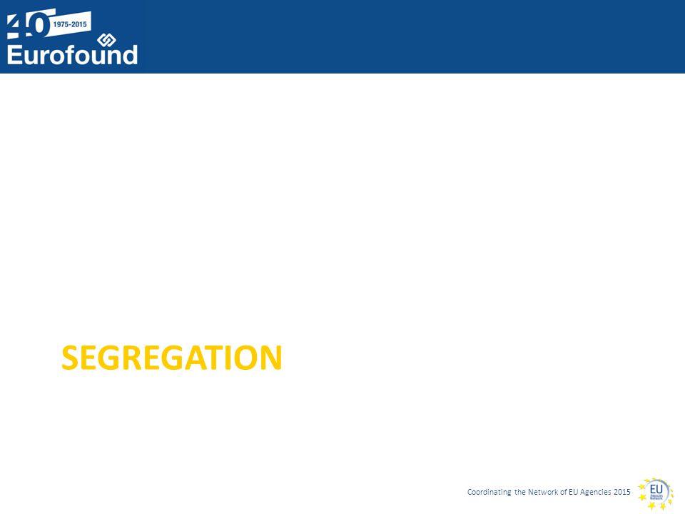 Coordinating the Network of EU Agencies 2015 SEGREGATION