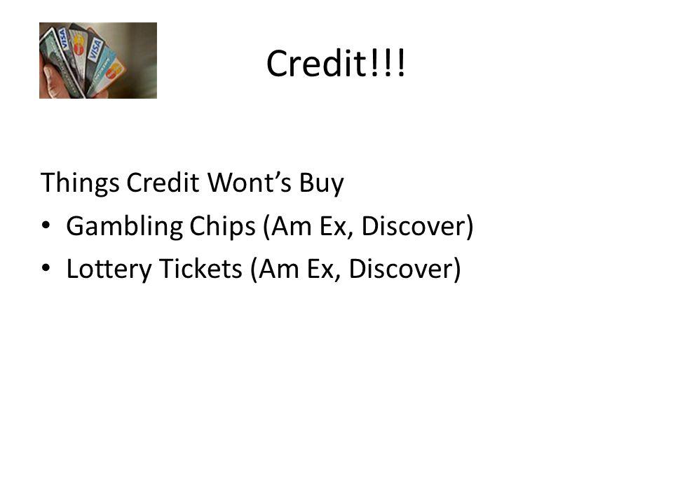Credit!!.