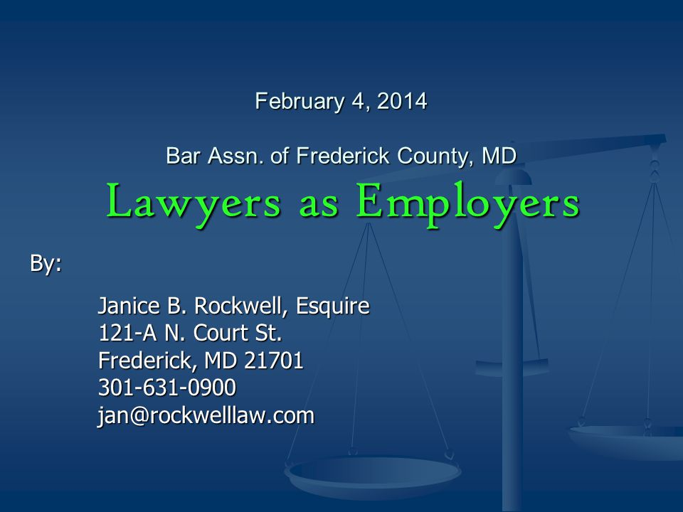 Questions Legal Disclaimer: This presentation is not intended to be legal advice or a substitute for legal advice.