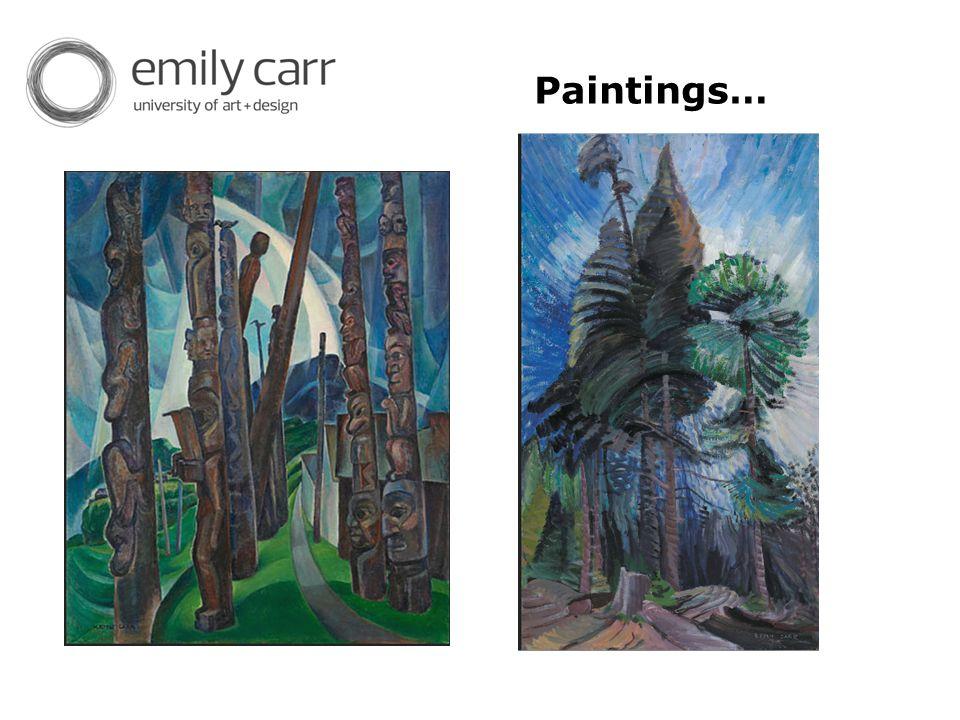 Paintings…