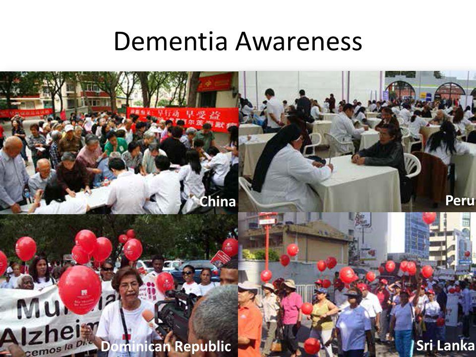 Dementia Awareness China Peru Dominican Republic Sri Lanka