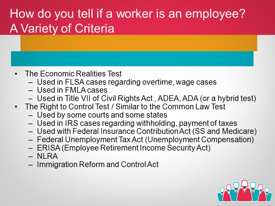 How do you tell if a worker is an employee.