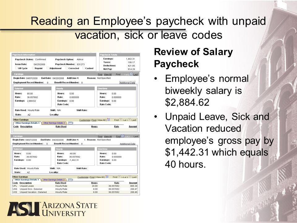 salary paycheck